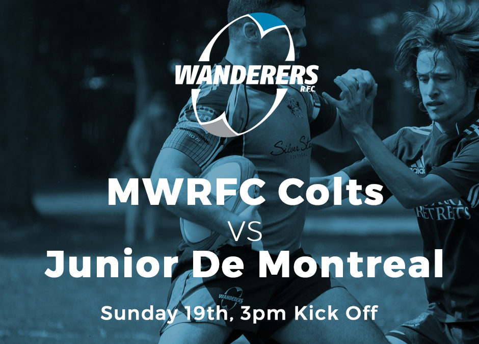 MWRFC Colts (Juniors) Play Sunday 19th vs Junior de Montreal in DDO